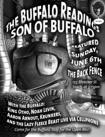Headlining the BackFence, June 6th 2004